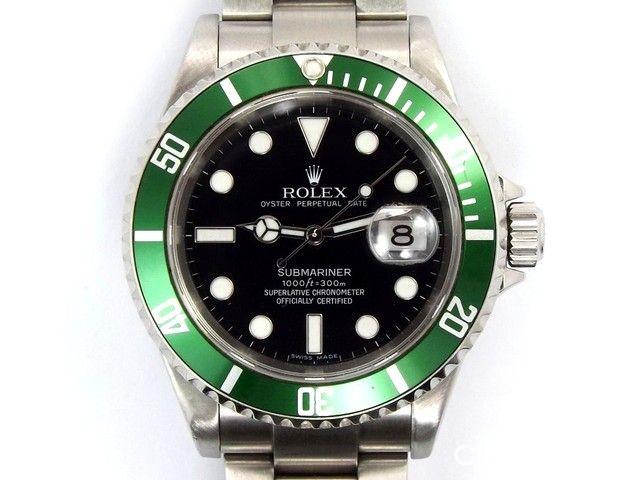 AnniversaryBisel Submariner Verde 16610t Jcr Lv Reloj Vende Rolex wXluZkiTOP