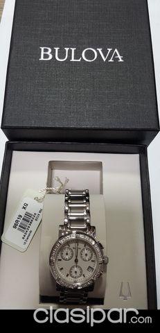 0fc852ba9070 Relojes - Joyas - Accesorios - RELOJ BULOVA PARA DAMA NUEVO SIN USO CON  BRILLANTES .