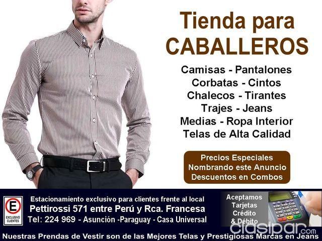 311d3737fd0e Prendas de Vestir para Caballeros! #97990 | Clasipar.com en Paraguay