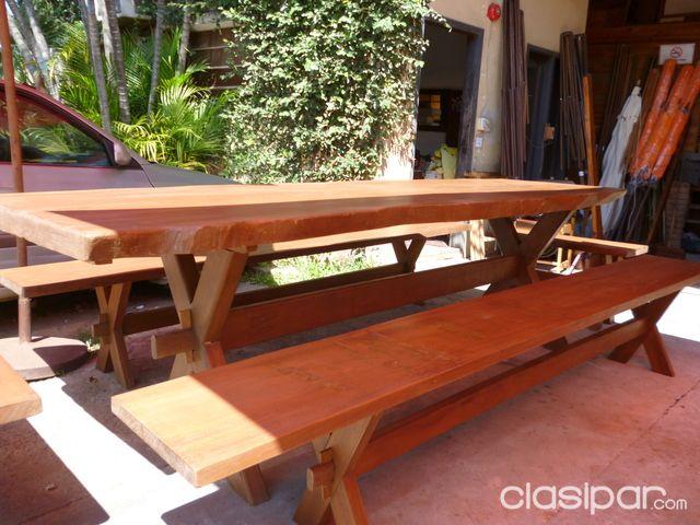 Vendo mesas para quincho 84022 en paraguay for Vendo muebles jardin
