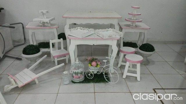 Alquiler de muebles shabby chic para decoraciones | Clasipar.com en ...