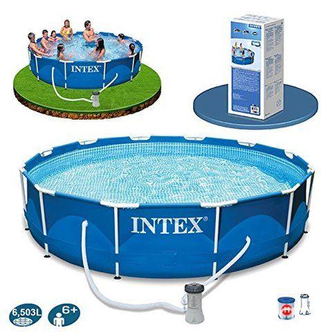 Piscinas intex pileta de 6500 litros aproximado precio for Piletas estructurales intex precio