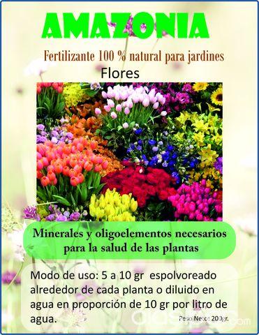 Abono fara huertas jardines y viveros en for Viveros en paraguay