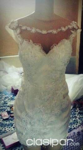 vendo vestido de novia de Ñanduti #162023 | clasipar en paraguay