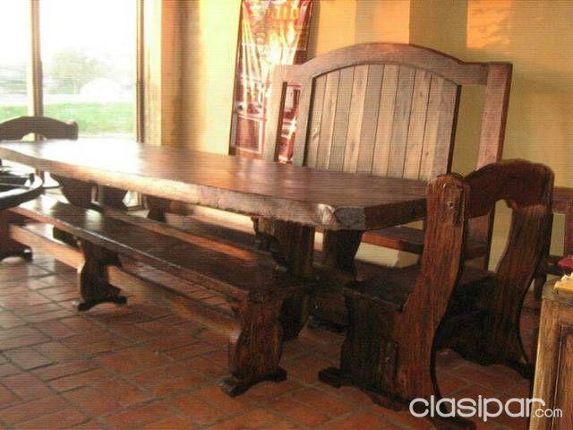 Muebles Rusticos Para El Hogar Y El Campo 60813 Clasiparcom En - Fotos-muebles-rusticos