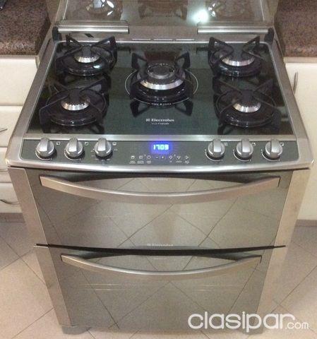 Cocina A Gas Con Horno Electrico | Elektrolux Cocina Gas Horno Electrico Y Gas 657604 Clasipar Com