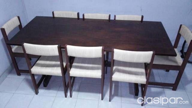 Vendo Mesa Comedor Con 8 Sillas #654112 | Clasipar.com en Paraguay