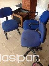Vendo sillas para oficina usadas en buen estado #640795 | Clasipar ...