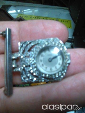 Plata801058En Prendedor Prendedor De Reloj Paraguay Reloj A5j4L3R