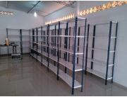 Vendo Estanterias Metalicas Usadas.Venta De Estanterias Metalicas Todas Las Medidas 60979 Clasipar