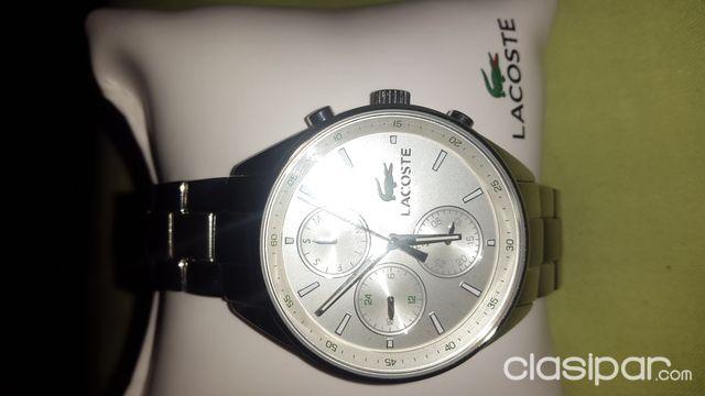 7b28609c3d19 Relojes - Joyas - Accesorios - Reloj Lacoste Silver Unisex Original