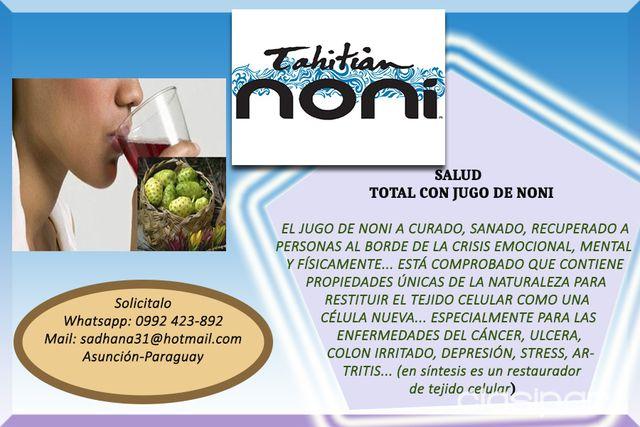 JUGO DE NONI   Clasipar.com en Paraguay
