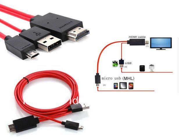 Cable Hdmi De Celular A Tv 17109 Clasipar Com En Paraguay