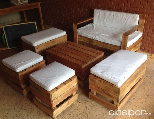 Muebles palets y sillas cables para tus eventos 109475 - Sillas con palets ...