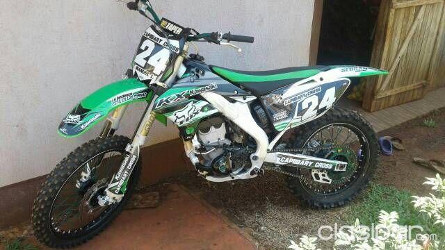 Vendo Moto Cross Kawasaki 250 250419 Clasipar Com En Paraguay