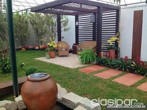 Pergolados Y Cobertizos Para Jardin Con Estructura De Hierro Y - Cobertizo-para-jardin