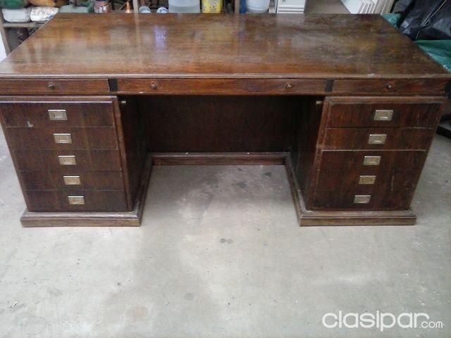 Muebles   Mesa De Escritorio Antigua