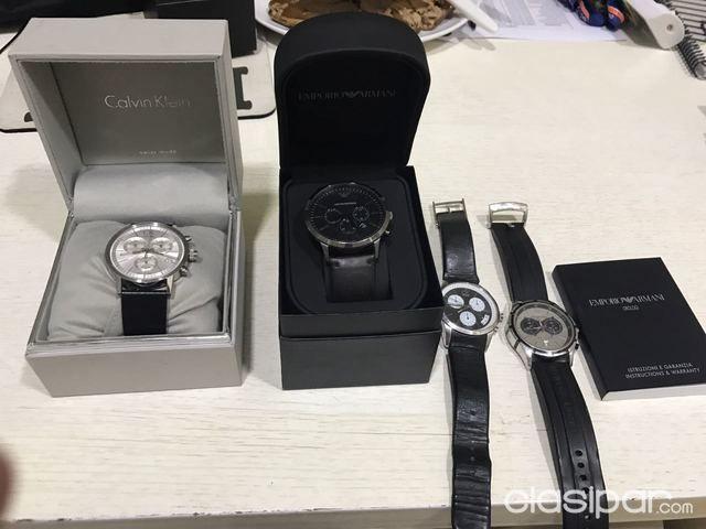 59acd51aaf49 Relojes - Joyas - Accesorios - Vendo relojes Emporio Armani y Calvin Klein!