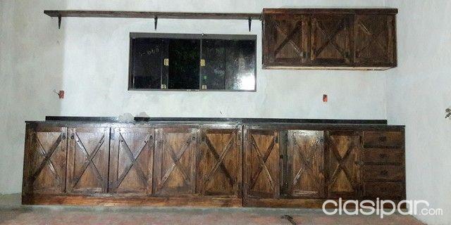 Muebles Rusticos y Muebles de Cocina Jgos.de Living ,Comedor ...