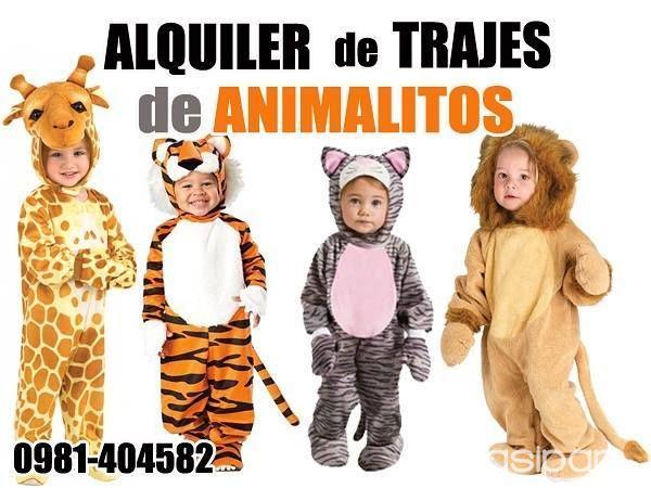 Otros animales y mascotas - ALQUILER DE DISFRACES DE ANIMALITOS 115b1c83ff5