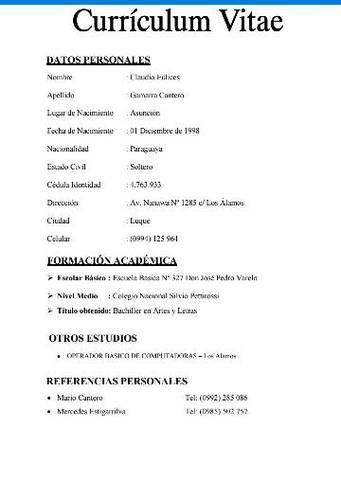 Busco Empleo Clasipar Com En Paraguay