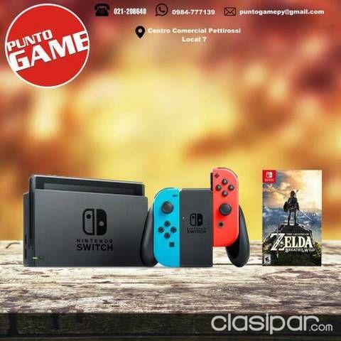 Nintendo Switch Juego Zelda Clasipar Com En Paraguay