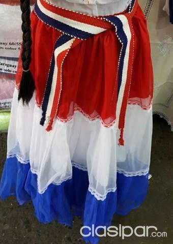1268ba9fb Prendas Tipicas Paraguayas !! ao poi , encaje ju ,ñamduti,ponchos ...