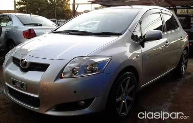 Imponente Toyota Auris 2008 Color Gris Plata Recien Importado