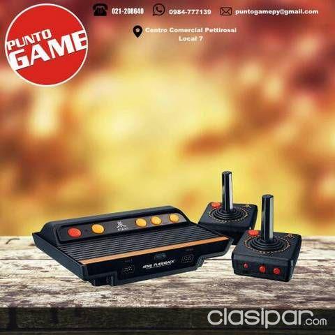 Consola Atari Flashback 7 Con 101 Juegos Clasipar Com En Paraguay