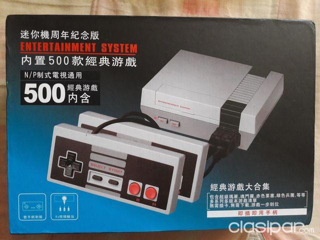 Nintendo Nes Mini Con 500 Juegos Cargados 793475 Clasipar Com En