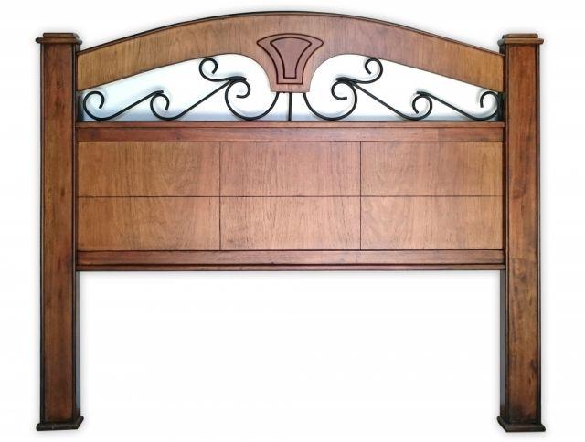 Vendo cabeceras para cama sommier de madera y hierro for Vendo muebles jardin