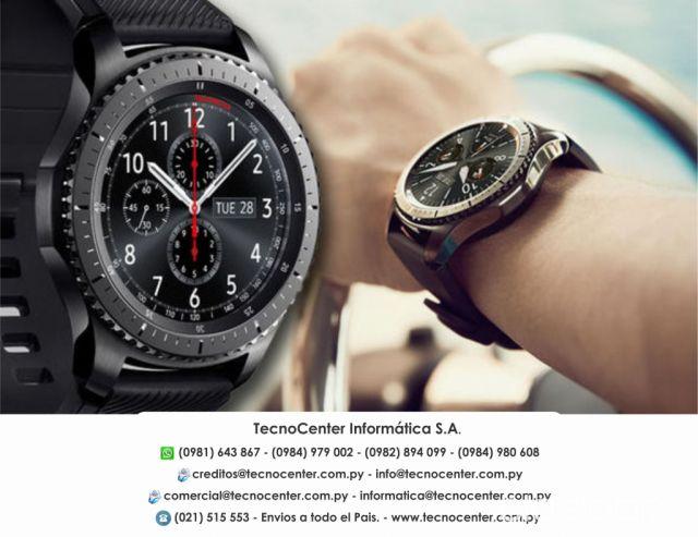 7e952b7c5 Reloj Inteligente Samsung Gear S3 Frontier. #941973   Clasipar.com ...