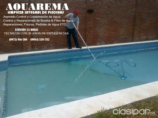 Limpieza de piscina aspirado desinfecci n desagote reparaci n service de motores y filtros - Motores de piscina ...