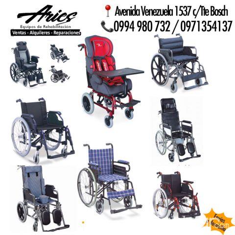 silla de ruedas electricas en paraguay