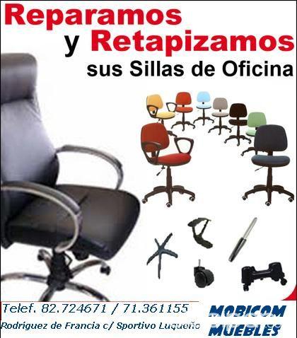 REPARACION SILLAS OFICINA!! | Clasipar.com en Paraguay