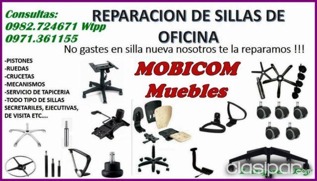 ARREGLO SILLAS MUEBLES OFICINA!! | Clasipar.com en Paraguay