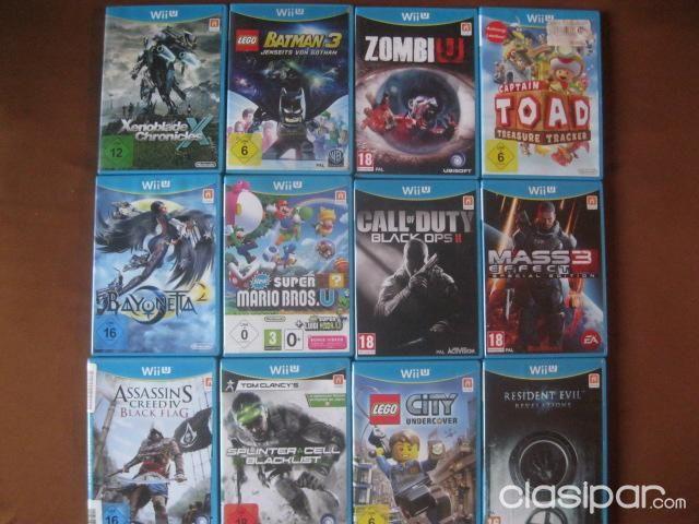 14 Juegos Originales Para El Wiiu 990695 Clasipar Com En Paraguay