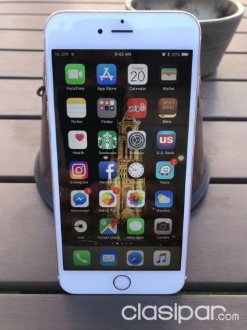 28427a98835 Celulares - Teléfonos - VENDO APPLE IPHONE 6S PLUS 64GB ROSE GOLD (ORO  ROSADO)