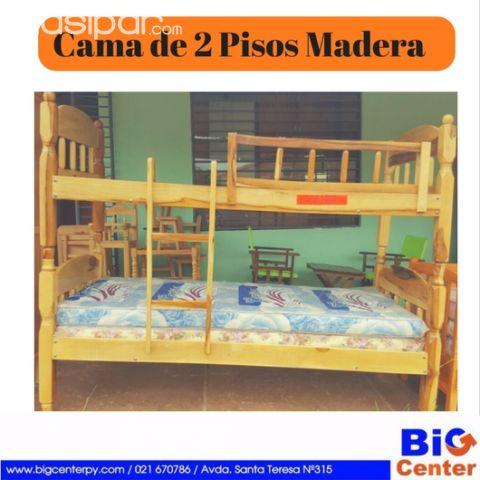 Cama de 2 Pisos - Madera Macisa | Clasipar.com en Paraguay