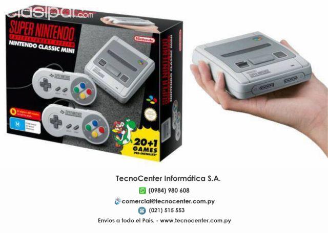 Super Nintendo Classic Edition Con 21 Juegos Cargados Adquirilo En