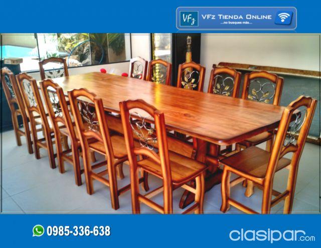 Muebles Rústicos para el Quincho o el comedor   Clasipar.com en Paraguay