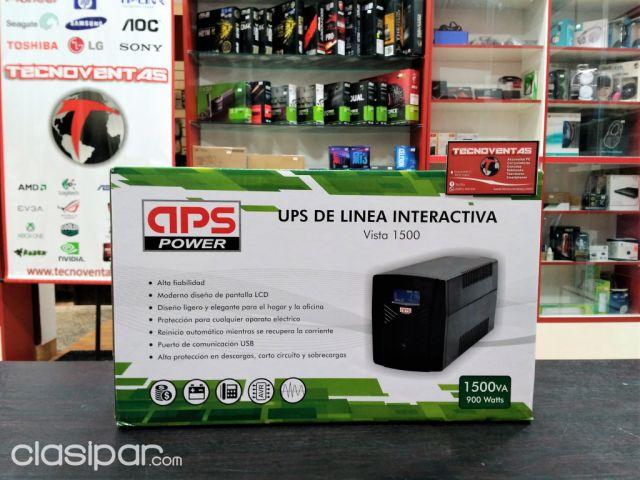 Circuito Ups : Ups 1500va 900w aps power #1037233 clasipar.com en paraguay
