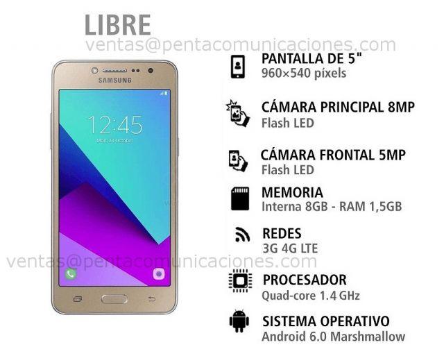 Regalo Nuevo Samsung Galaxy J2 Prime 4g Lte Modelo 2017