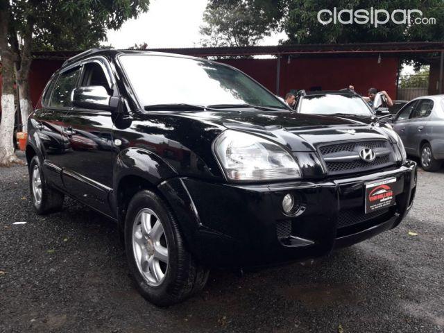 Vendo Hyundai tucson año 2006 color negro recién importado motor 2.0 ...