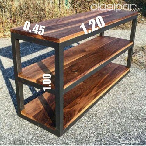 Vendo muebles de hierro y madera 1070506 for Vendo muebles jardin