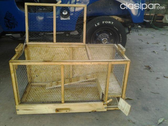Jaulas Para Loro Hamster Coballo Conejo Casa Para Perro De