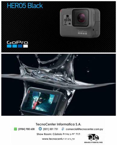 487b130fa1f Cámaras y accesorios - Cámara Go Pro Hero 5 Black Sumergible donde tu  SmartPhone no llega