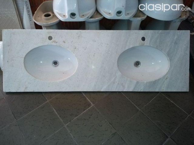 Vendo mesada de marmol e inodoros usados | Clasipar.com en Paraguay