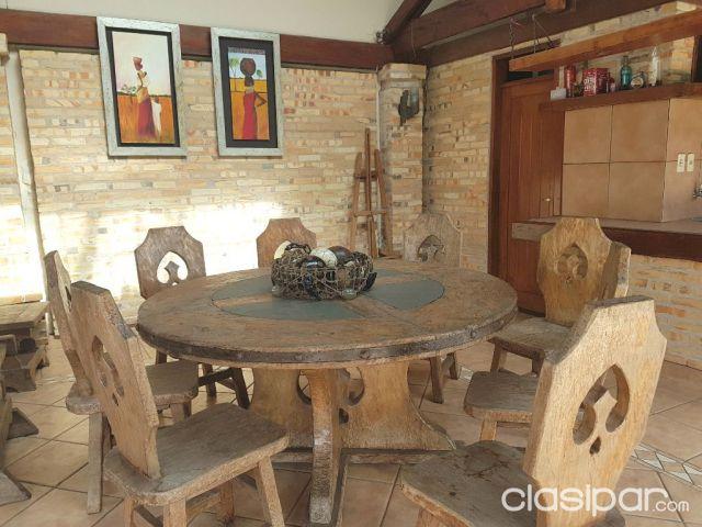 Juego de comedor rustico 1155739 en paraguay for Muebles de comedor rusticos