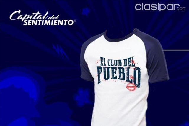 Remera Club Del Pueblo Caballero 1173965 Clasiparcom